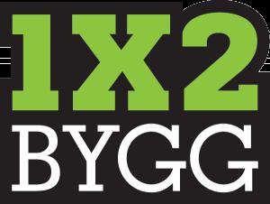 1X2 Bygg logo