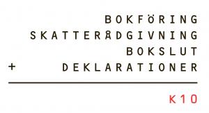 K10 Redovisning logo
